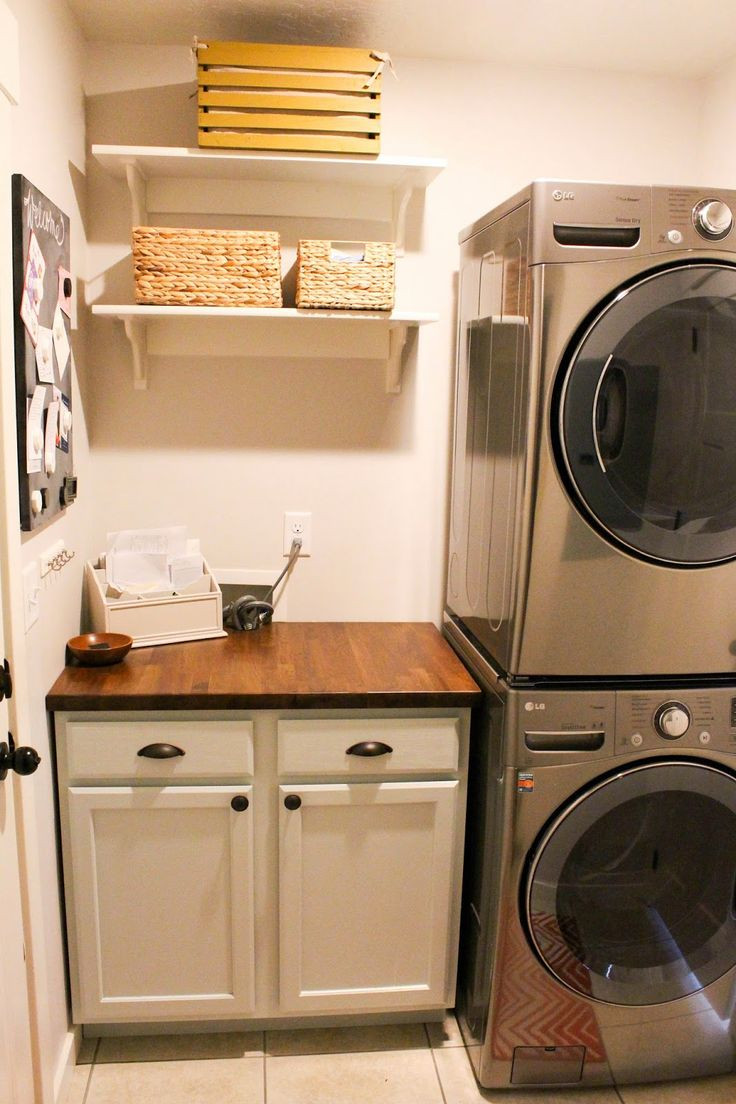 Best ideas about Basement Laundry Rooms . Save or Pin 25 best Stacked Washer Dryer ideas on Pinterest Now.