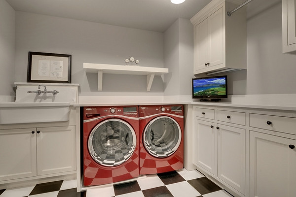 Best ideas about Basement Laundry Rooms . Save or Pin Basement laundry room ideas and furniture tips Now.