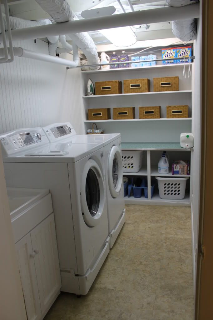Best ideas about Basement Laundry Rooms . Save or Pin Unfinished Basement Laundry Room Ideas May 2019 Toolversed Now.