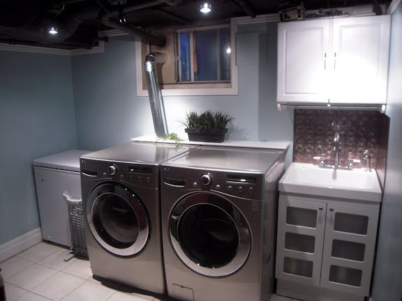 Best ideas about Basement Laundry Rooms . Save or Pin 308 best images about for home on Pinterest Now.