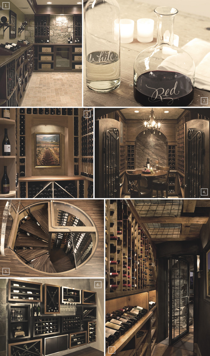 Best ideas about Basement Wine Cellar . Save or Pin 3 Ideas for Basement Wine Cellar Designs Now.