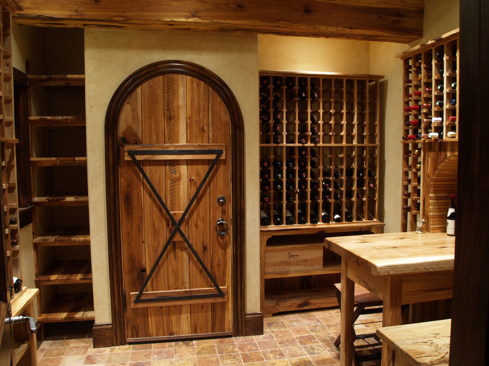 Best ideas about Basement Wine Cellar . Save or Pin Hickory Wine Cellar & Home Theater Now.