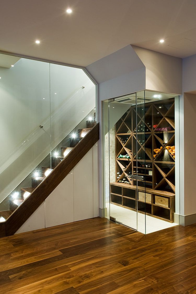 Best ideas about Basement Wine Cellar . Save or Pin 20 Eye Catching Under Stairs Wine Storage Ideas Now.