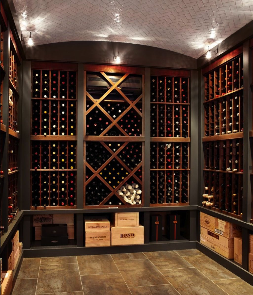 Best ideas about Basement Wine Cellar . Save or Pin Wine room wine cellar home interior Now.
