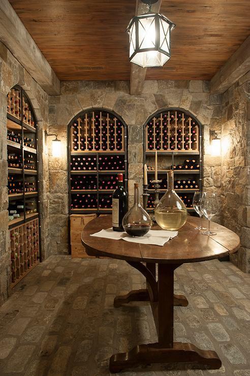 Best ideas about Basement Wine Cellar . Save or Pin Wine Cellar Country basement Philip Gorrivan Design Now.