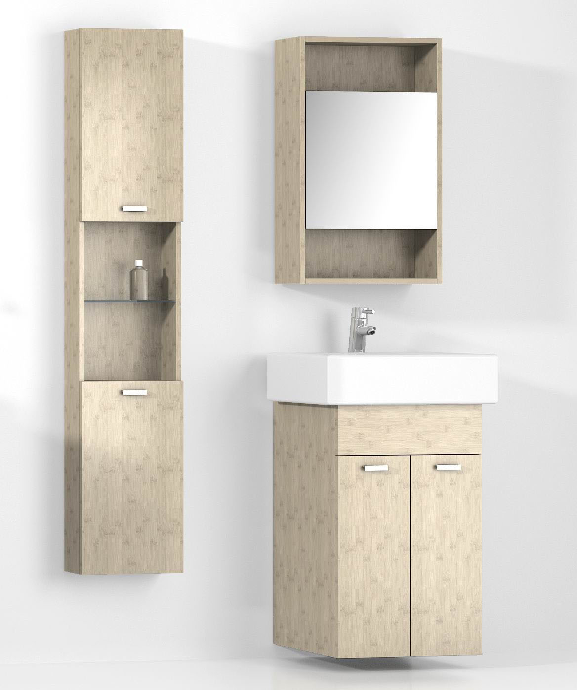 Best ideas about Bathroom Cabinet Storage . Save or Pin bamboo bathroom cabinet Now.