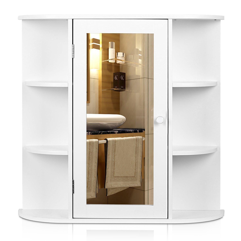 Best ideas about Bathroom Cabinet Storage . Save or Pin Wall Mount Bathroom Cabinet Storage Organizer Medicine Now.