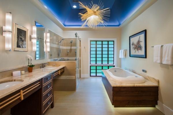 Best ideas about Bathroom Ceiling Paint . Save or Pin 50 Impressive bathroom ceiling design ideas – master Now.