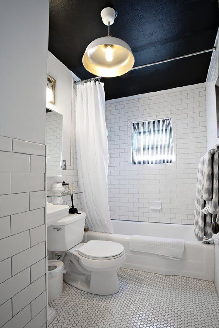 Best ideas about Bathroom Ceiling Paint . Save or Pin Freutcake Fixer Upper Bathroom In Progress Freutcake Now.