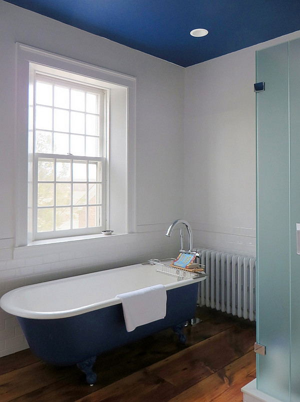 Best ideas about Bathroom Ceiling Paint . Save or Pin Colorful Bathtub Ideas Bathroom Decor Now.