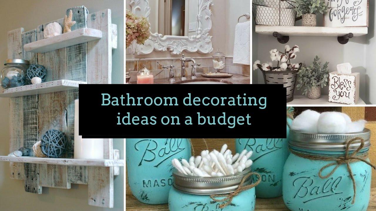 Best ideas about Bathroom Decorating Ideas DIY . Save or Pin DIY Bathroom decorating ideas on a bud 🛀 Home decor Now.