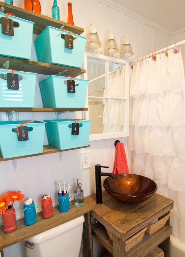 Best ideas about Bathroom Decorating Ideas DIY . Save or Pin DIY Bathroom Decor Ideas for Small Bathroom Now.