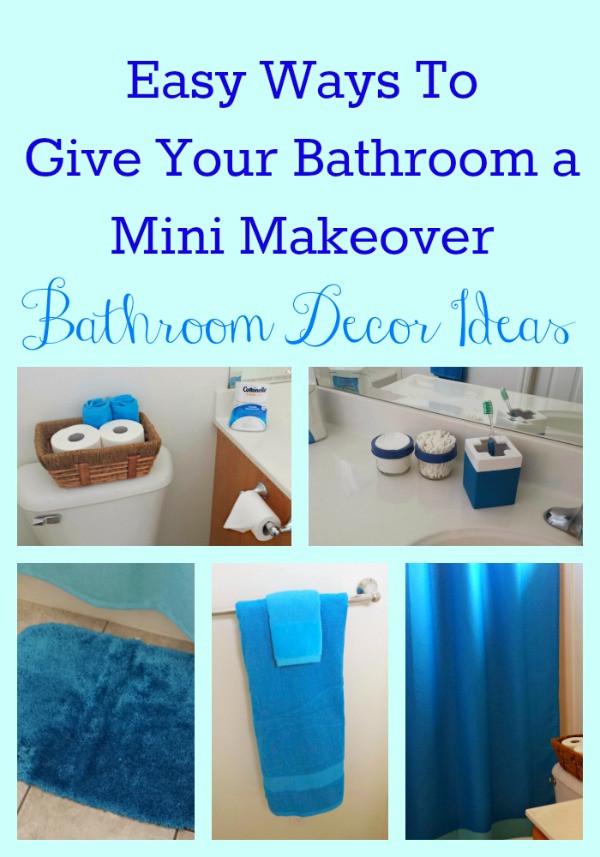 Best ideas about Bathroom Decorating Ideas DIY . Save or Pin Easy Bathroom Decor Ideas Now.