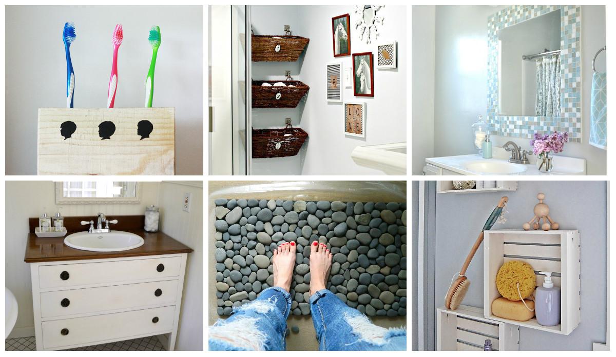 Best ideas about Bathroom Decorating Ideas DIY . Save or Pin 9 Diy Bathroom Ideas diy Thought Now.
