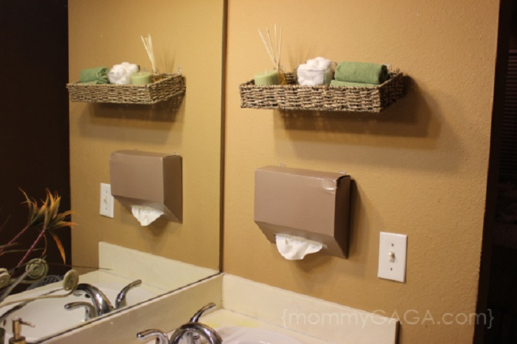 Best ideas about Bathroom Decorating Ideas DIY . Save or Pin Top 10 Lovely DIY Bathroom Decor and Storage Ideas Top Now.