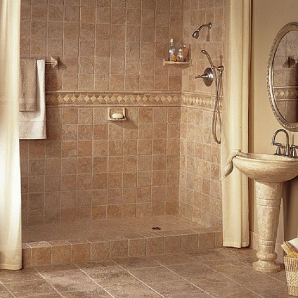 Best ideas about Bathroom Floor Tile Ideas . Save or Pin How To Install Bathroom Tile In Corners how to regrout Now.