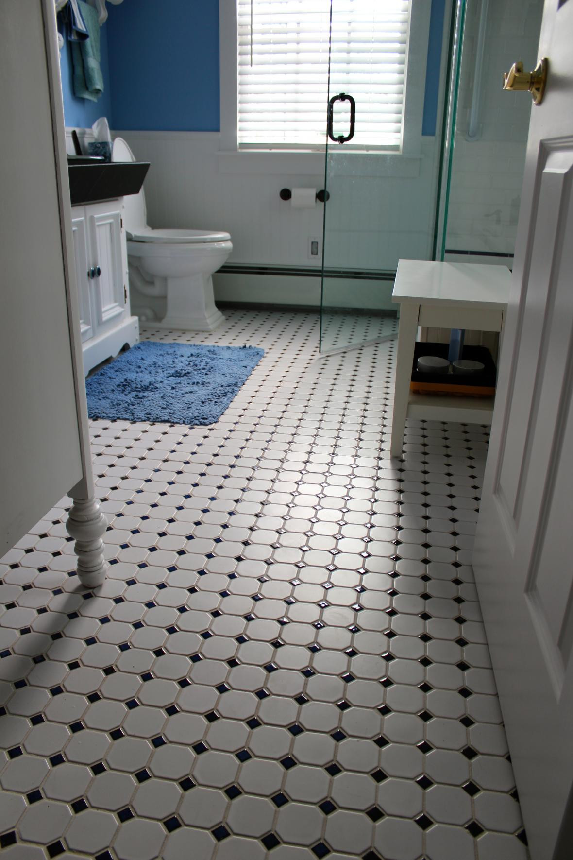 Best ideas about Bathroom Floor Tile Ideas . Save or Pin 30 great pictures and ideas of old fashioned bathroom tile Now.