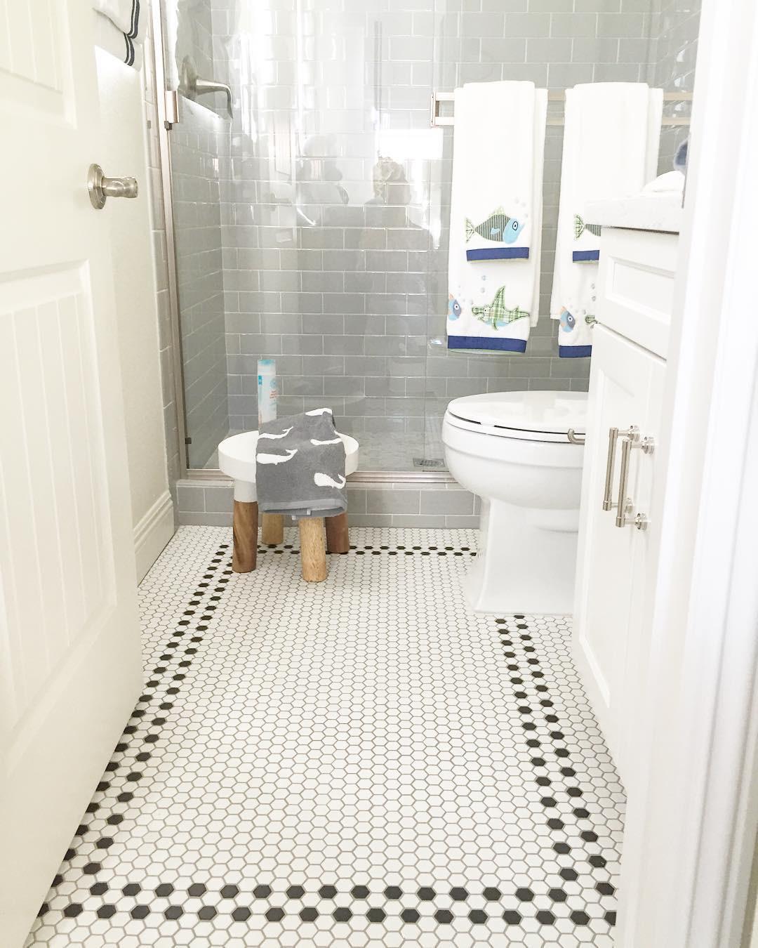 Best ideas about Bathroom Floor Tile Ideas . Save or Pin 23 Bathroom Tiles Designs Bathroom Designs Now.