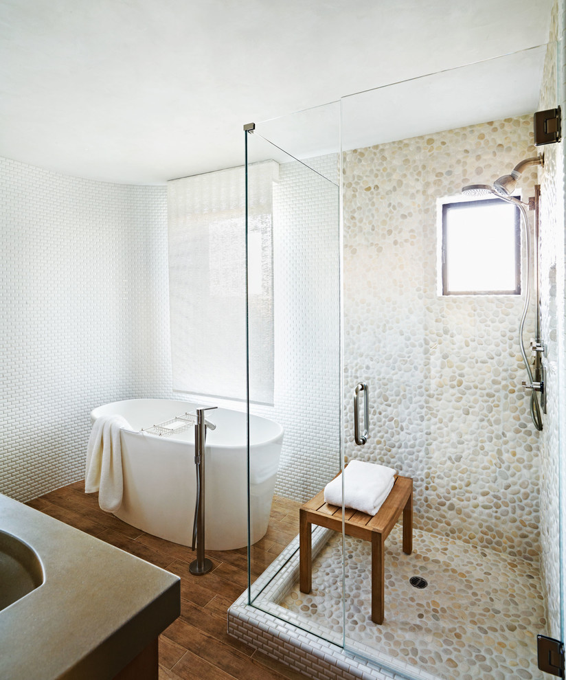 Best ideas about Bathroom Floor Tile Ideas . Save or Pin Shower Tile Designs for Each and Every Taste Now.