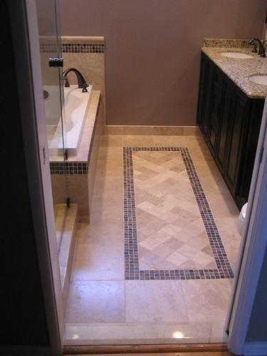Best ideas about Bathroom Floor Tile Ideas . Save or Pin 17 Best ideas about Bathroom Floor Tiles on Pinterest Now.