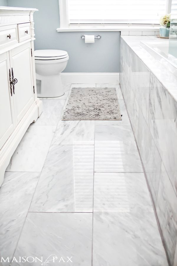 Best ideas about Bathroom Floor Tile Ideas . Save or Pin 10 Tips for Designing a Small Bathroom Deco Now.