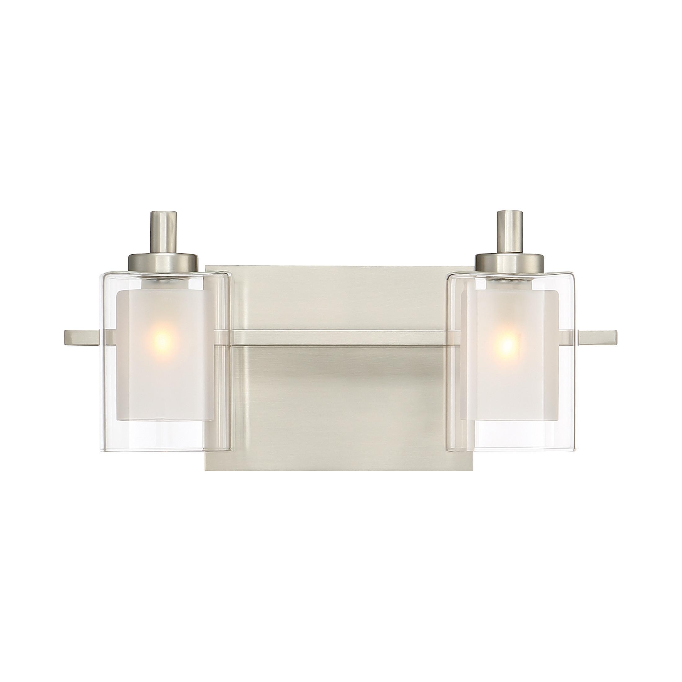 Best ideas about Bathroom Light Bar . Save or Pin Quoizel Kolt 2 Light Bath Bar & Reviews Now.