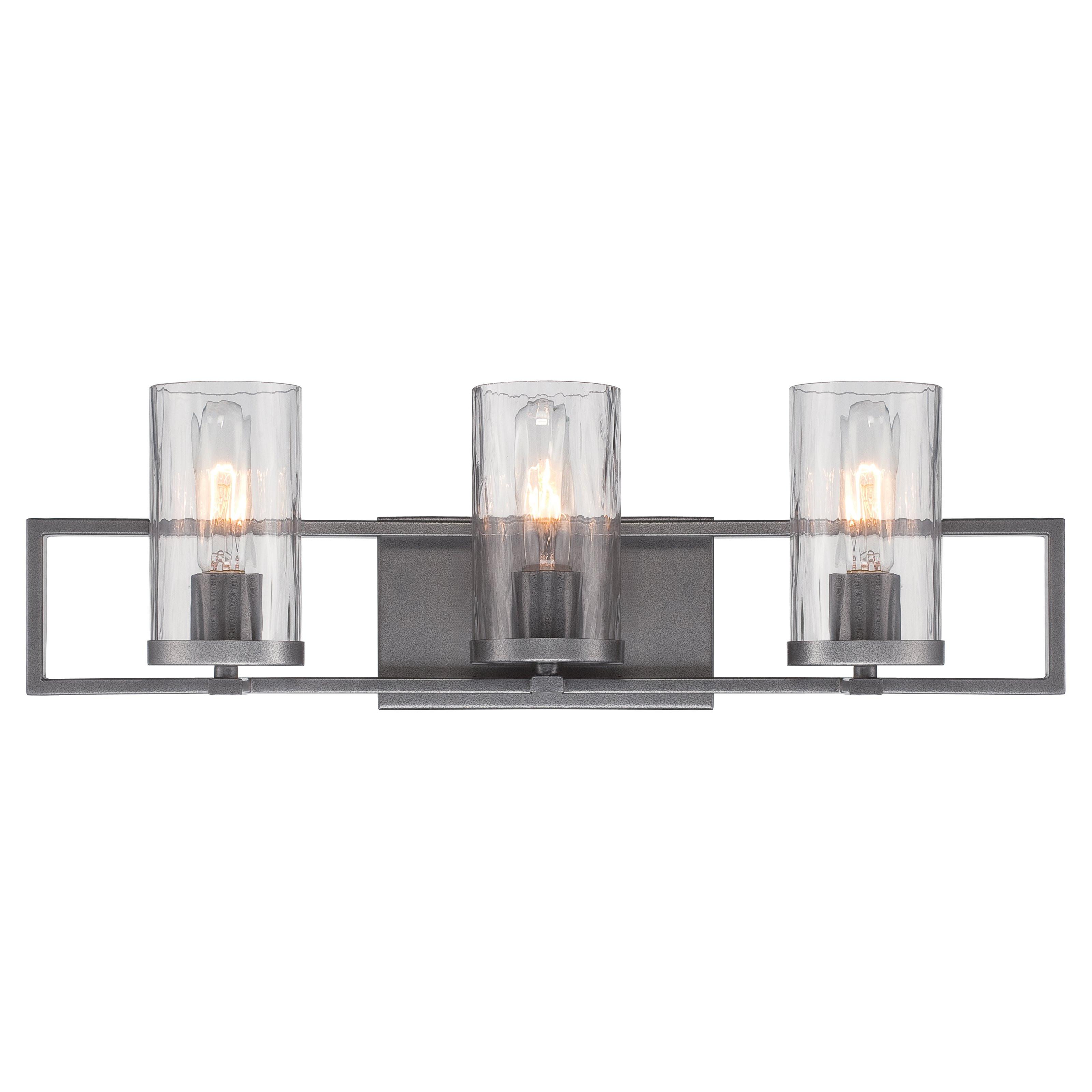 Best ideas about Bathroom Light Bar . Save or Pin Designers Fountain Elements 3 Light Bath Bar Now.
