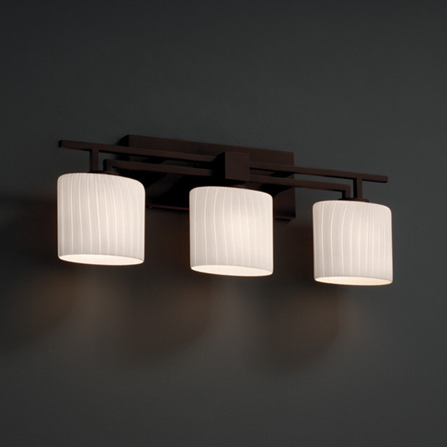 Best ideas about Bathroom Light Bar . Save or Pin Justice Design Group Fusion Aero 3 light Ribbon Bath Bar Now.