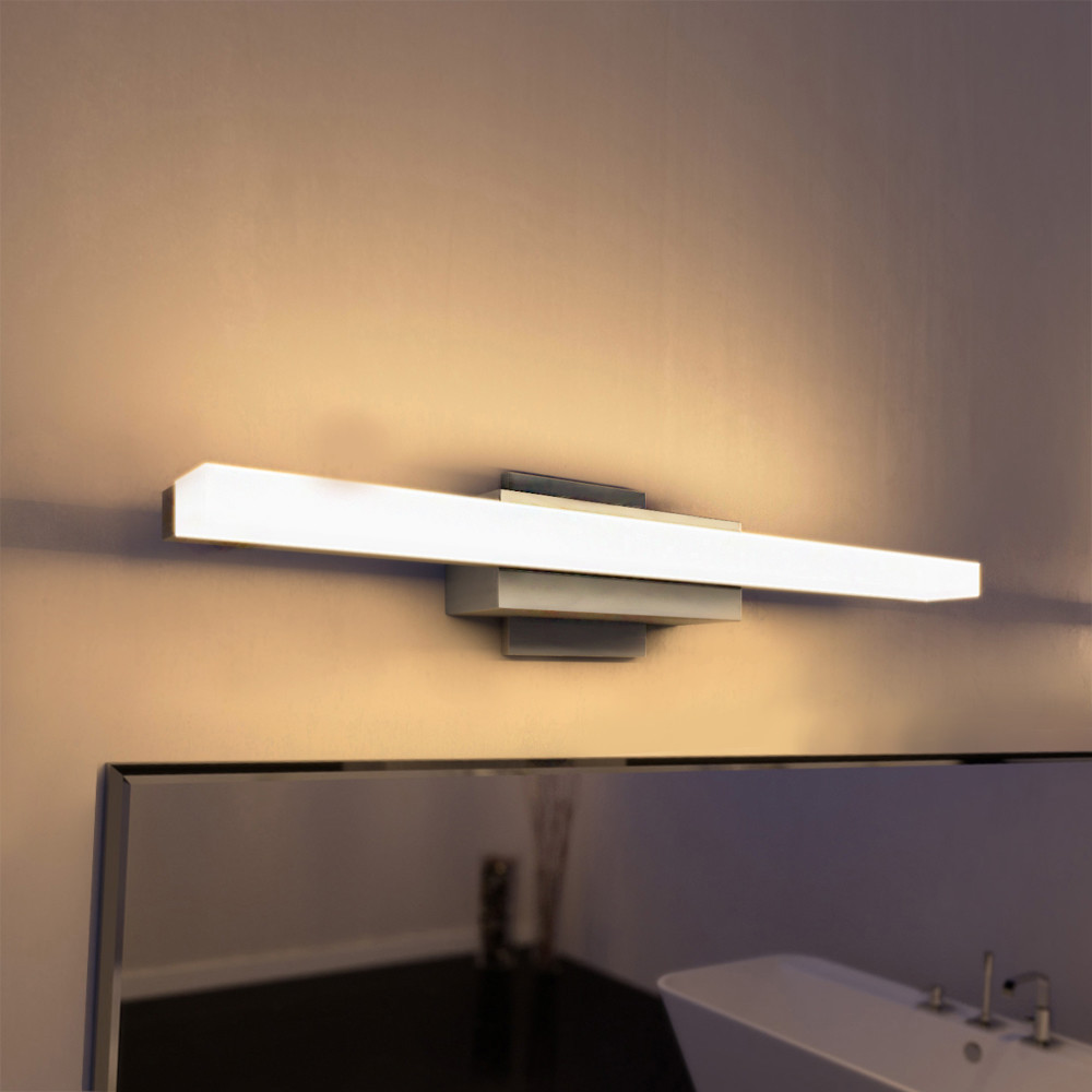 "Best ideas about Bathroom Light Bar . Save or Pin VONNLighting Procyon 23"" LED Low Profile 1 Light Bath Bar Now."