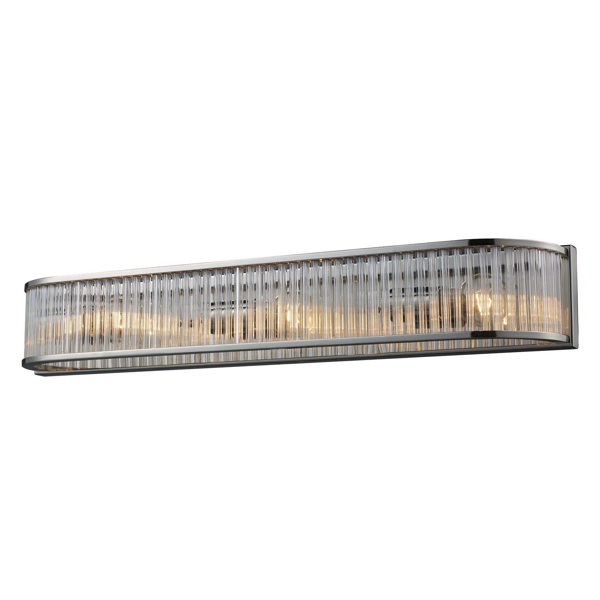 Best ideas about Bathroom Light Bar . Save or Pin Elk Lighting Braxton 3 Light Bath Bar & Reviews Now.