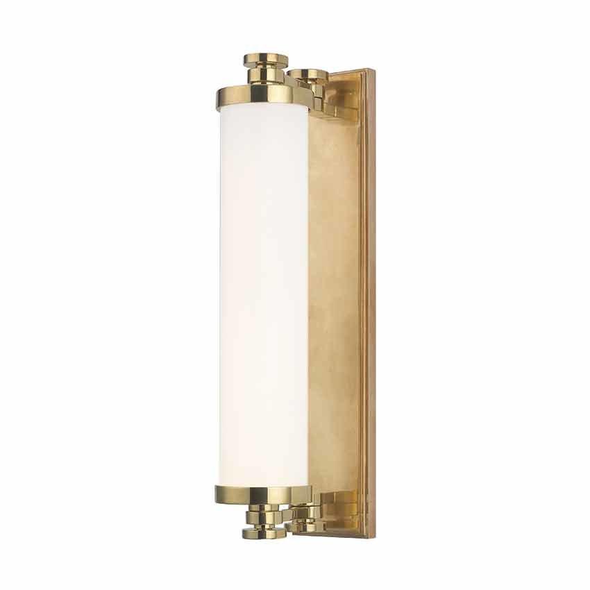 Best ideas about Bathroom Light Bar . Save or Pin Hudson Valley Sheridan 8 Light Bathroom Vanity Light Bar Now.