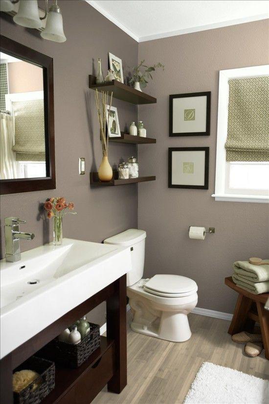Best ideas about Bathroom Paint Color Ideas . Save or Pin 25 best ideas about Bathroom Wall Colors on Pinterest Now.