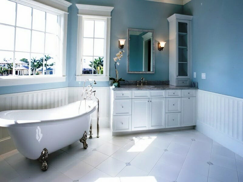 Best ideas about Bathroom Paint Color Ideas . Save or Pin How to Decorate with Different Shades of Blue Now.