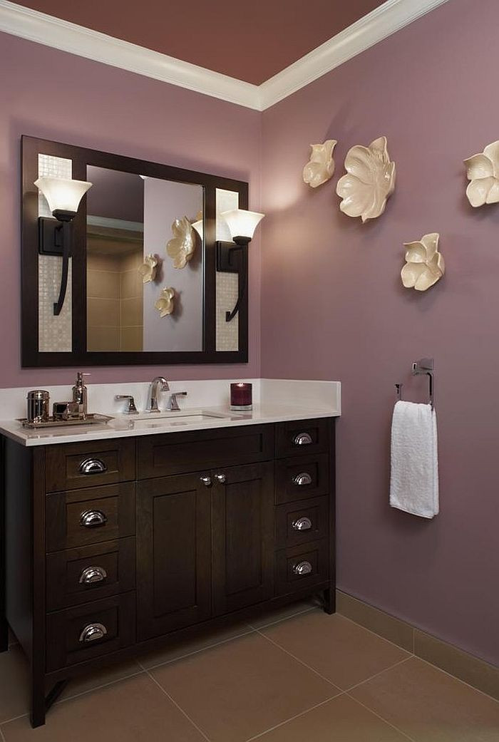 Best ideas about Bathroom Paint Color Ideas . Save or Pin 23 Amazing Purple Bathroom Ideas s Inspirations Now.