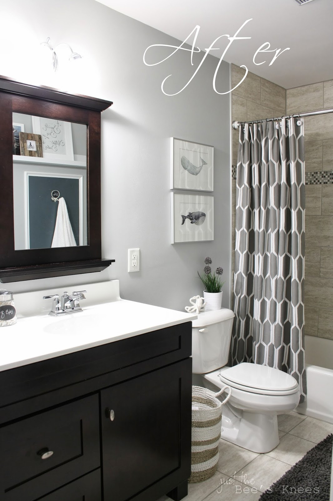 Best ideas about Bathroom Paint Color Ideas . Save or Pin accent walls Now.