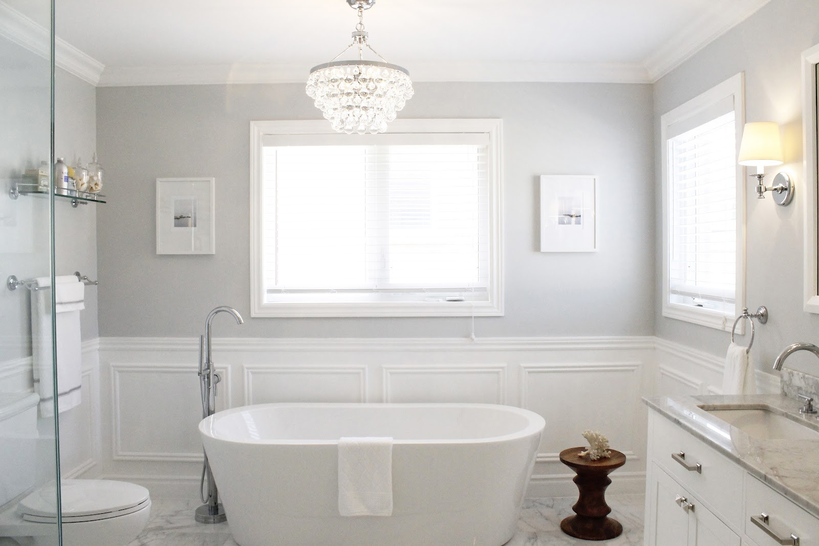 Best ideas about Bathroom Paint Color Ideas . Save or Pin 5 Stunning Ideas Now.