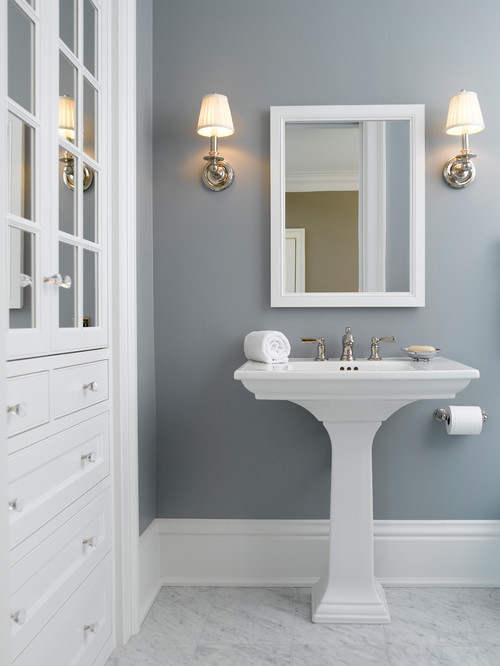 Best ideas about Bathroom Paint Color Ideas . Save or Pin Choosing Bathroom Paint Colors for Walls and Cabinets Now.
