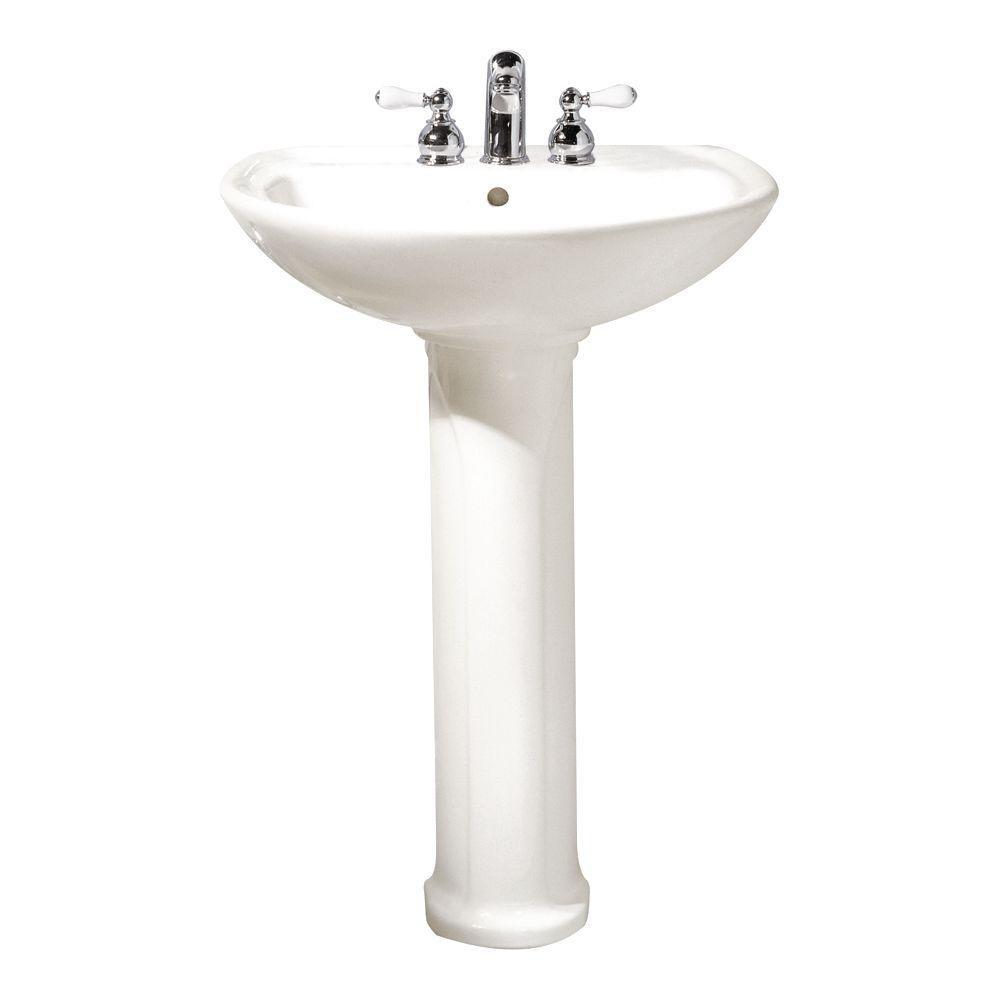 Best ideas about Bathroom Pedestal Sink . Save or Pin American Standard Cadet Pedestal bo Bathroom Sink in Now.