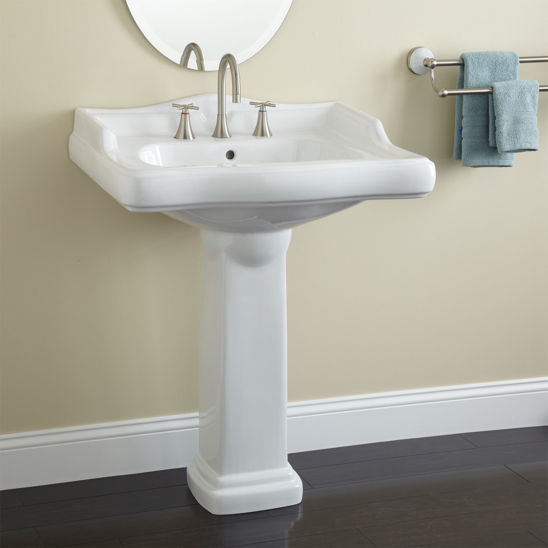 Best ideas about Bathroom Pedestal Sink . Save or Pin Dawes Pedestal Sink Now.