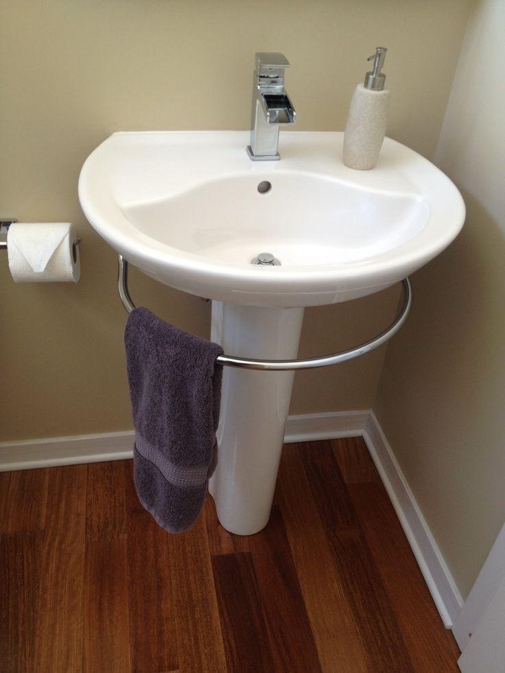 Best ideas about Bathroom Pedestal Sink . Save or Pin 1000 ideas about Pedestal Sink Bathroom on Pinterest Now.