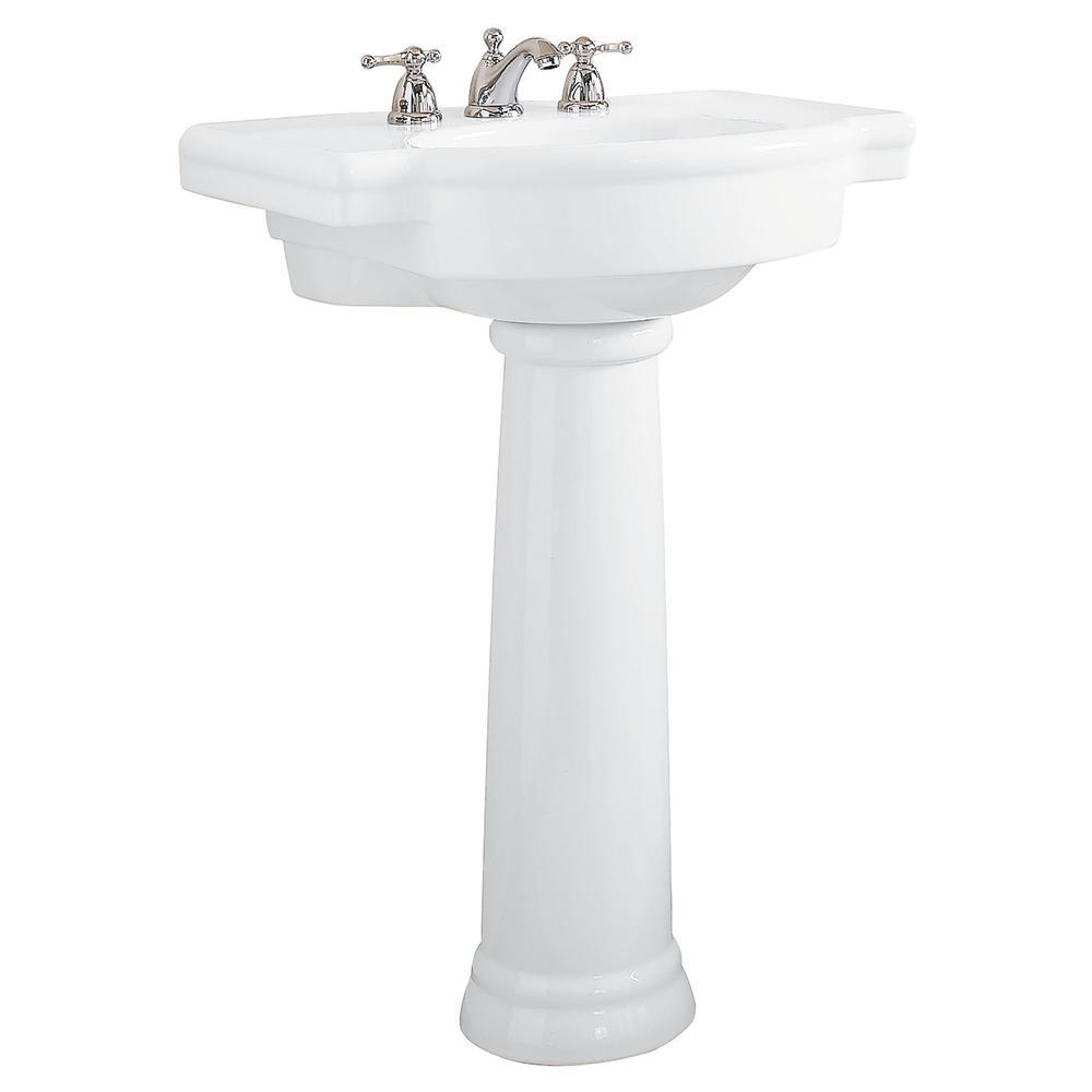 Best ideas about Bathroom Pedestal Sink . Save or Pin American Standard Retrospect Pedestal bo Bathroom Sink Now.