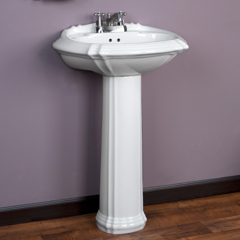 Best ideas about Bathroom Pedestal Sink . Save or Pin Regent Pedestal Sink Now.