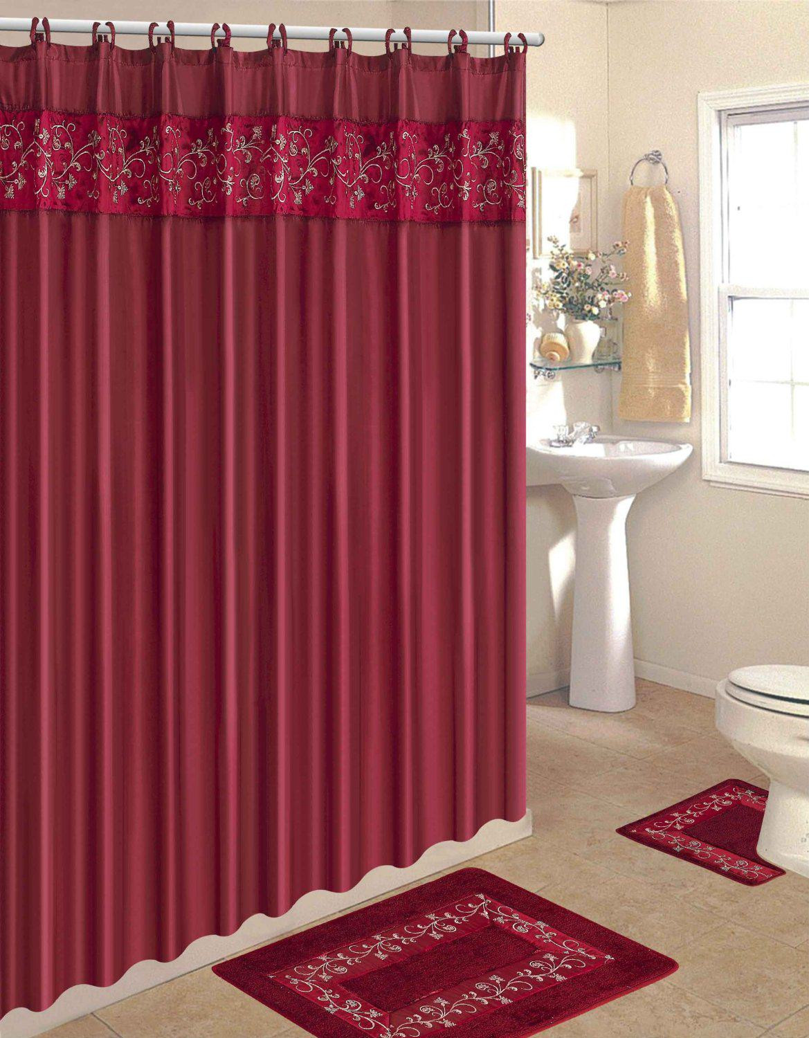 Best ideas about Bathroom Sets With Shower Curtain . Save or Pin Awesome Bathroom Sets To Brighten Your Bathroom Decor Now.