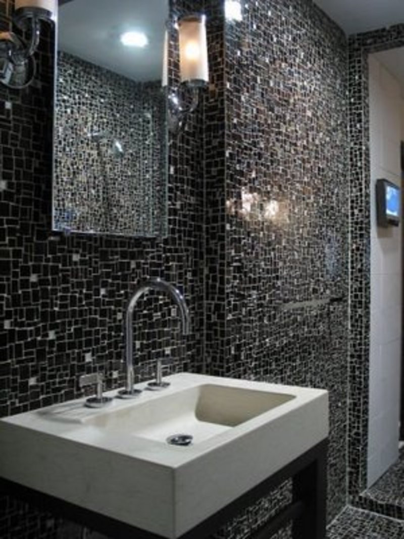 Best ideas about Bathroom Tiles Design . Save or Pin 32 good ideas and pictures of modern bathroom tiles texture Now.