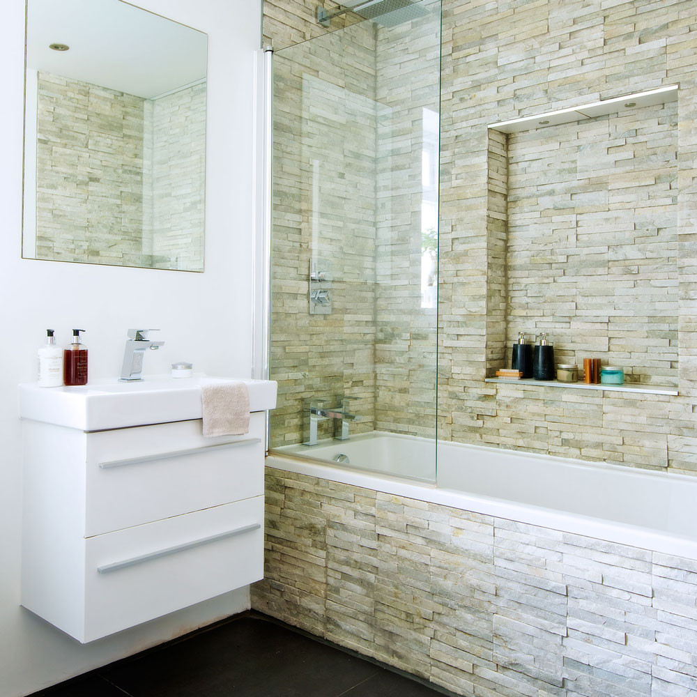 Best ideas about Bathroom Tiles Design . Save or Pin Bathroom tile ideas Now.