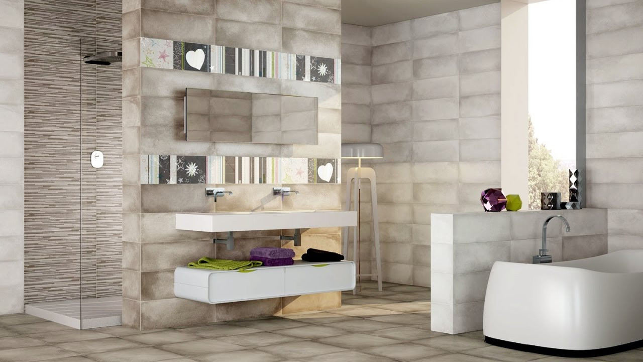 Best ideas about Bathroom Tiles Design . Save or Pin bathroom wall and floor tiles design ideas Now.