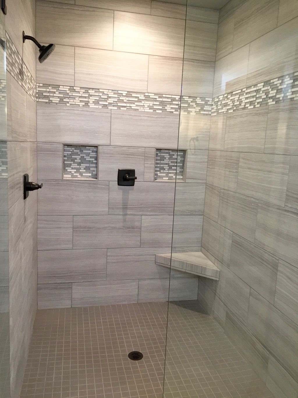 Best ideas about Bathroom Tiles Design . Save or Pin Who needs a spa day when you have a bathroom like this Now.