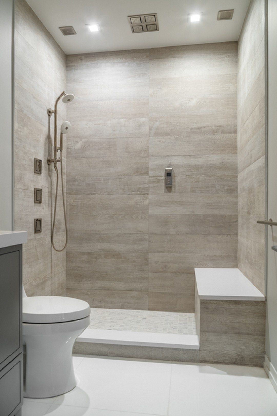 Best ideas about Bathroom Tiles Design . Save or Pin 15 Luxury Bathroom Tile Patterns Ideas Now.