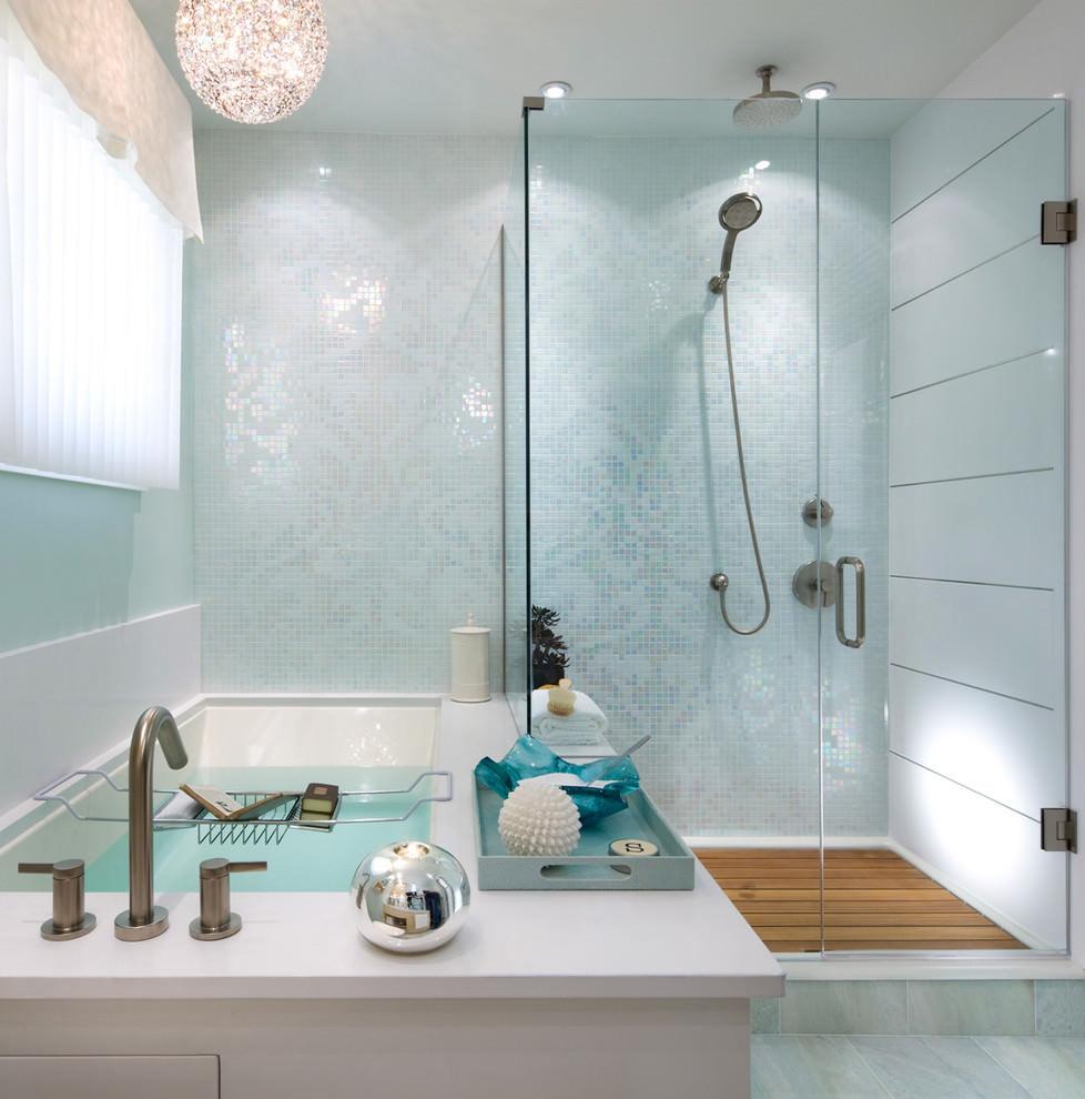 Best ideas about Bathroom Tiles Design . Save or Pin 24 Mosaic Bathroom Ideas Designs Now.