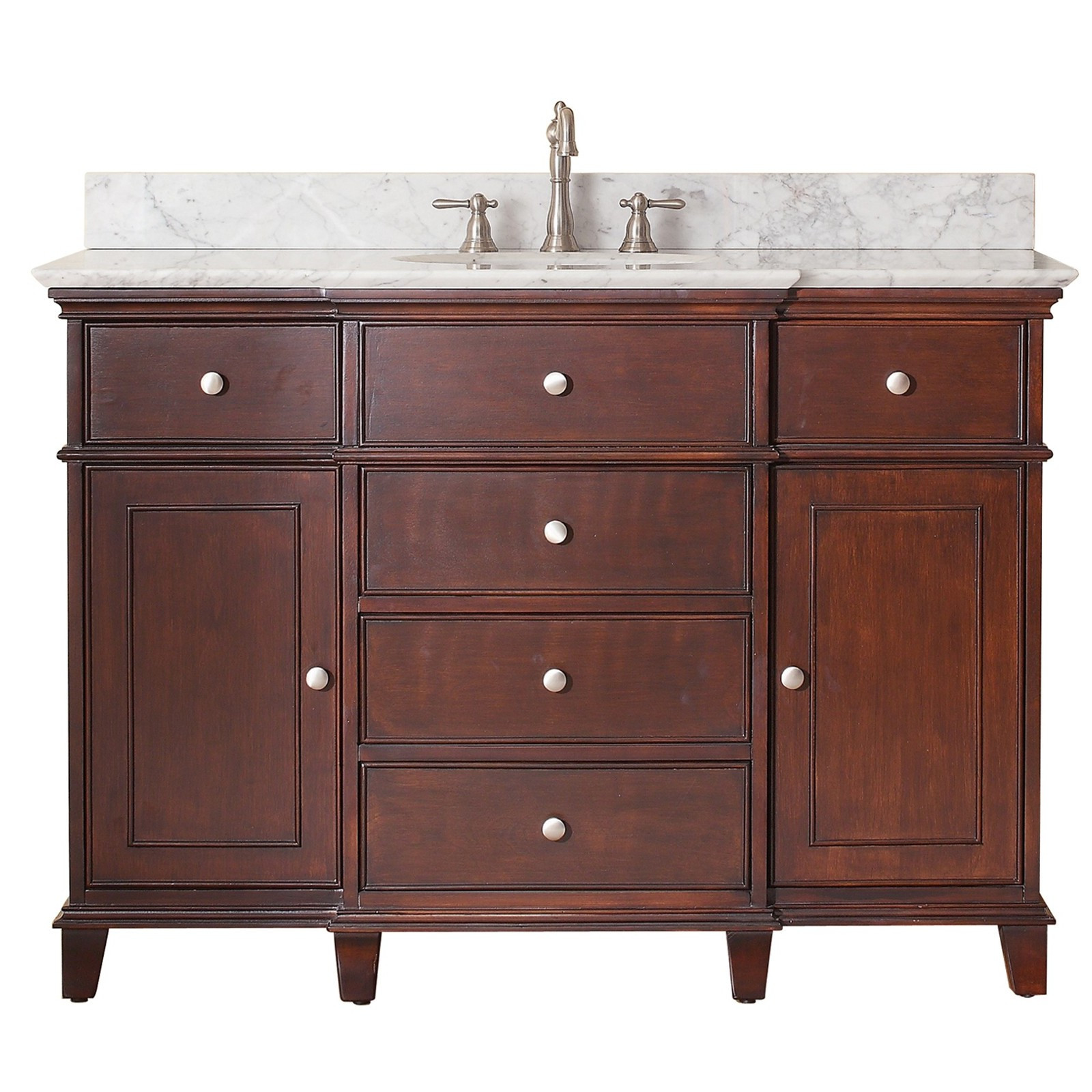 "Best ideas about Bathroom Vanities Cheap . Save or Pin Avanity Windsor 48"" Traditional Single Sink Bathroom Now."